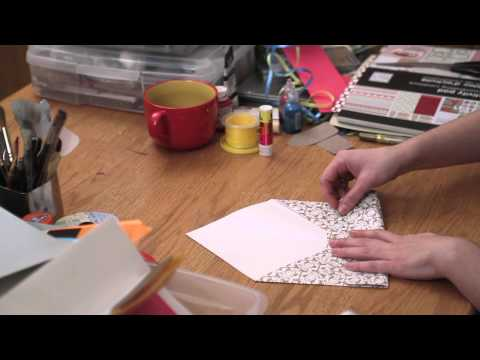 DIY Event Invitations : Patterns for Making Envelopes