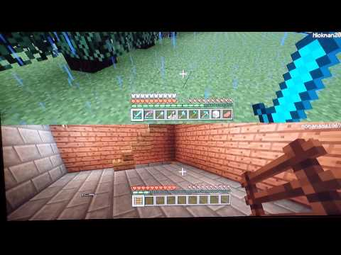 Minecraft episode 1 Setting Stuff on fire