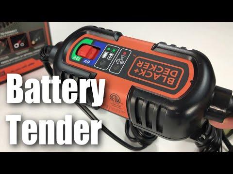 BLACK+DECKER BM3B 6V 12V Car Battery Charger, Tender, Maintainer Review