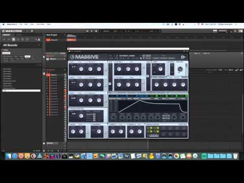 Massive Maschine Tutorial - Creating Synth Choir Patch From Scratch - Maschinemasters.com