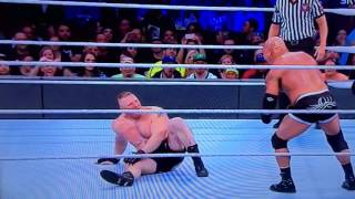 Goldberg vs. Brock Lesnar Survivor SerieS 2017