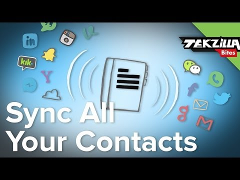 Combine All of Your Contacts in One Place