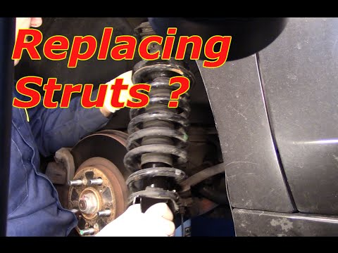 How To Replace The Front Struts On A 2010 Honda Accord