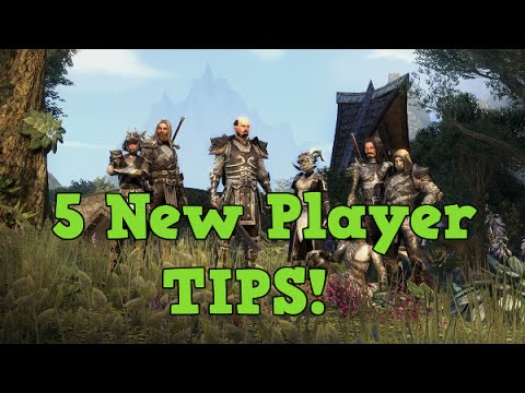 5 Tips for NEW Players on Elder Scrolls Online l GUIDE