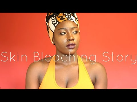 | MY SKIN BLEACHING STORY | I TRIED TO BLEACH MY SKIN USING HAIR REMOVAL CREAM