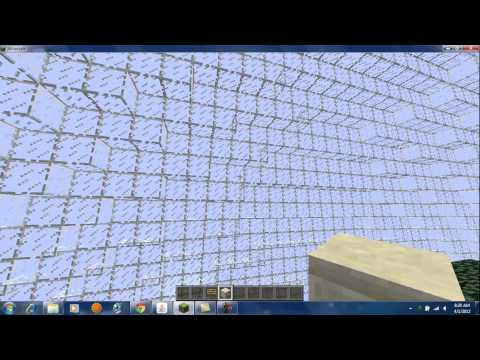 Minecraft [Giant Glass Sphere Server Map]