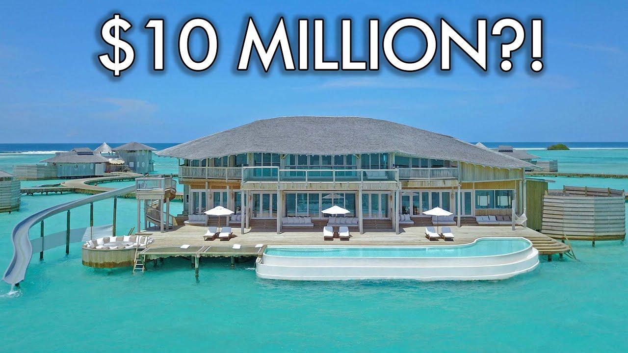 This Maldives Overwater Villa Is Worth $10 Million! Tour of 4-Bedroom Soneva Jani Overwater Villa