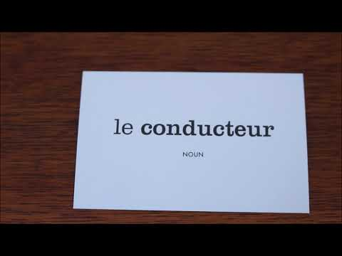 Learn French with Vincent # Flashcards on my table # Part 12