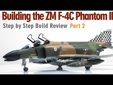Building the Zoukei-mura F-4C Phantom II Scale Model Aircraft