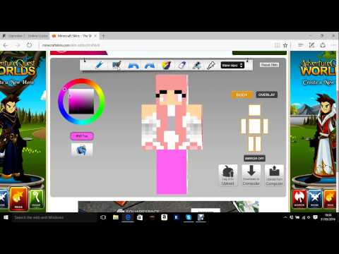 Minecraft Skindex-How to edit/download skins