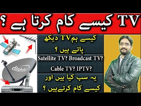 How to Watch Tv Without Buffering | How Satellite TV? Broadcast TV? Cable TV? IPTV? Works