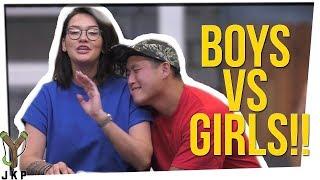 PASSWORD   BOYS VS GIRLS