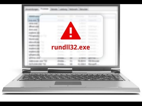 How To Fix The Rundll32.exe Error On Windows XP, Vista, and 7.