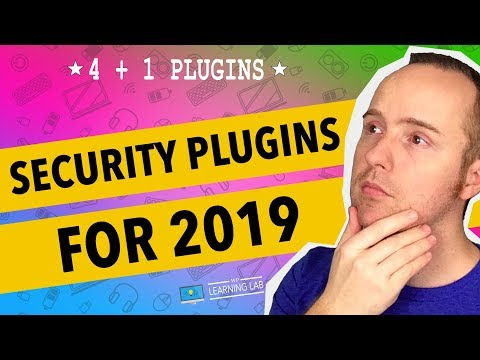 Top 4+1 WordPress Security Plugins 2019