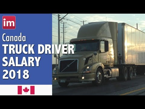 Truck Driver Salary in Canada | Wages in Canada (2018)