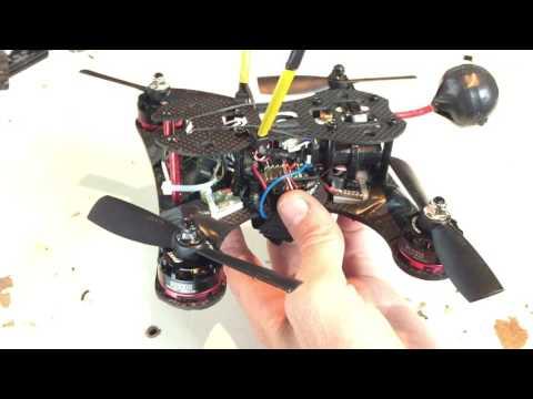 BG180 quad frame - Banggood.com. Review and flight test.