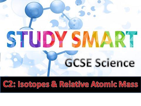 C2 Isotopes & Relative Atomic Mass (EDEXCEL)