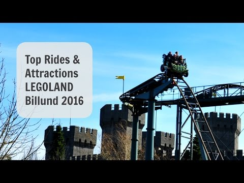 Top Rides & Attractions LEGOLAND Denmark