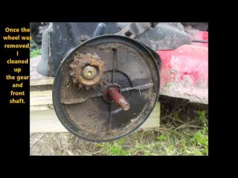 How To Replace Self Propelled Lawnmower Wheels