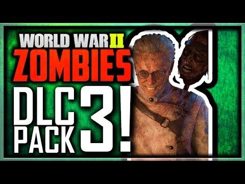 Call of Duty WW2 Zombies DLC 3 Revealed! Dr. Straub Boss Zombie? (Call of Duty WW2 Zombies DLC 3)