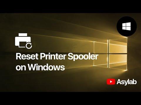 How to Reset Print Spooler via Command Prompt - Windows