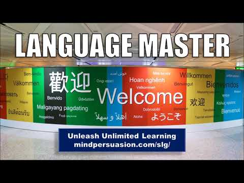 Language Master - Learn New Languages At The Speed Of Light - Subliminal Affirmations