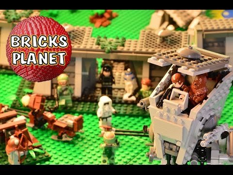 The Battle of Endor LEGO 8038 Star Wars - Stop motion review