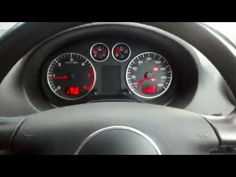 AUDI A3  POWER STEERING FAULT - COLD ENGINE