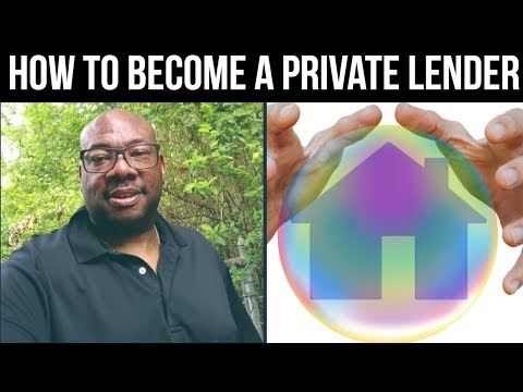 How to Become a Private Lender for Real Estate Investors