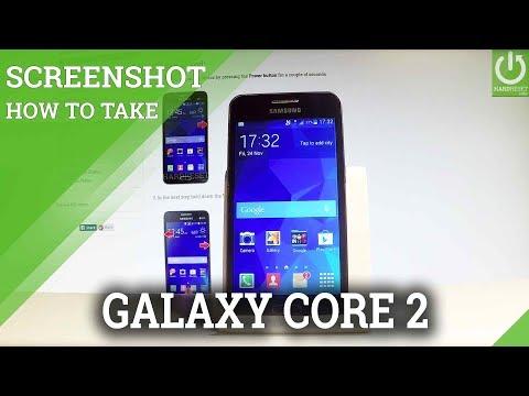 SAMSUNG Galaxy Core 2 SCREENSHOT / Capture Screen
