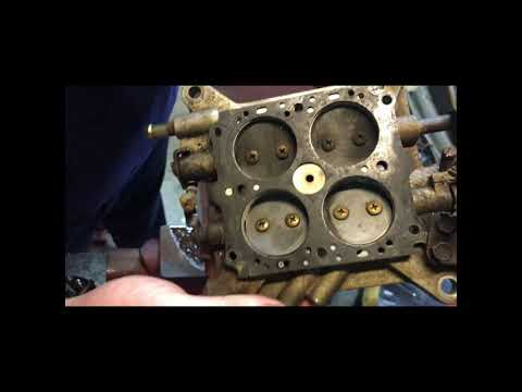 Breaking down a Holley 4160 600 cfm carb