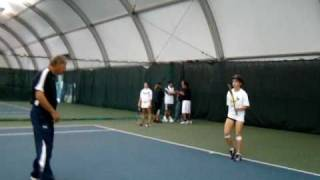 1. Nick Bollettieri Coaches Jessica Livianu, student of Bogdana Bogie Romanska.