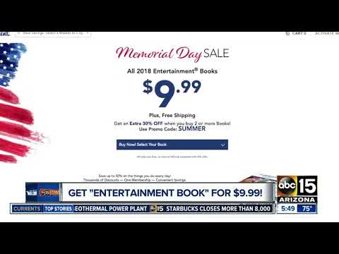 'Entertainment' coupon books at a great price!