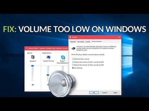 FIX: Volume Too Low on Windows