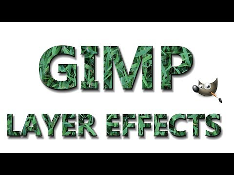 How to Install Layer Effects for GIMP 2.8