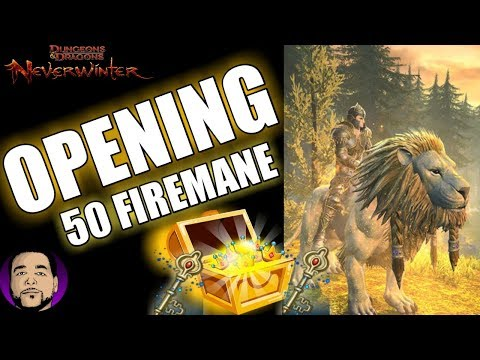 NEVERWINTER | OPENING 50 FIREMANE LOCKBOXES | MAKING ASTRAL DIAMONDS! PS4 2018