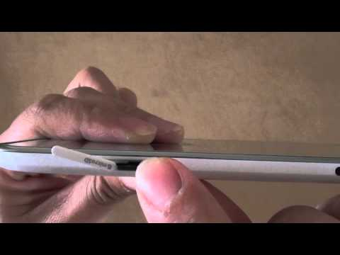 Samsung Galaxy Tab 4: How to Insert or Remove Micro SD Card