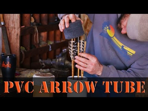 How to Make a Bow and Arrow Travel Case PVC DIY