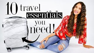 Download 10 Unique Travel Essentials You NEED! *life-changing* Video