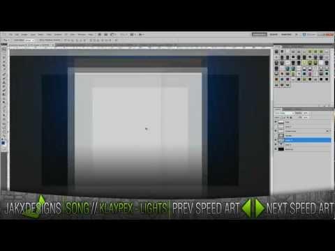 MrReevess YouTube Background - Speed Art