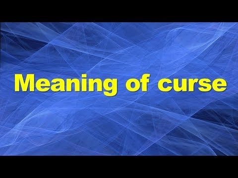 Meaning of curse