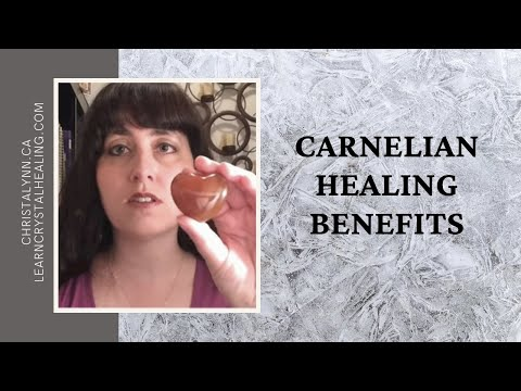 Healing with Carnelian