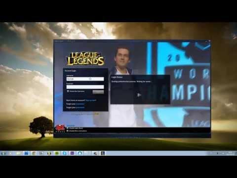 Create Custom Login Screen animation in League Of Legend! [4 min Tutorial]