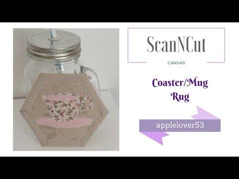 How To Make A Fabric Coaster/Mug Rug (stash buster)
