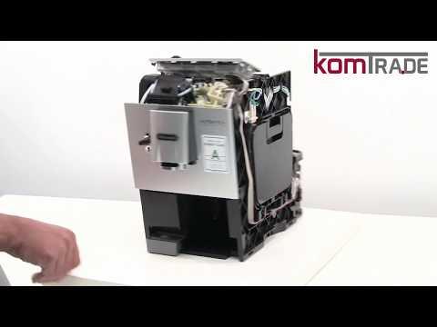 ETAM Gehäuse öffnen-schließen Delonghi Ersatzteile Reparaturanleitung