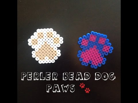 How To Make A Perler Bead Dog Paw!