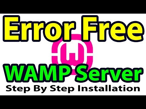 [SLOVED] How to properly install WAMP Server on Windows 7   Failed to install WAMP server guidelines