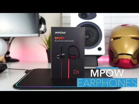 Mpow Flame Sport Bluetooth Earphones | REVIEW 2018