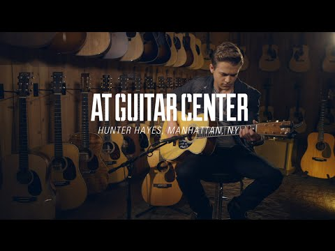 Hunter Hayes At Guitar Center