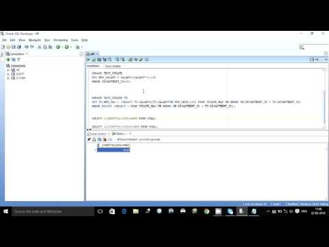 UPDATE STATEMENT WITH JOIN IN ORACLE SQL
